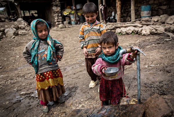 Child Photograph - It Is My Turn. by Mohammadreza Momeni