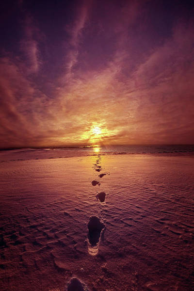 Photograph - It Is Then That I Carried You by Phil Koch