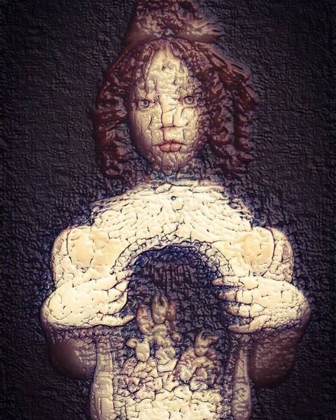 Possessed Digital Art - It Is What Is On The Inside That Counts.. by Vince Lurie