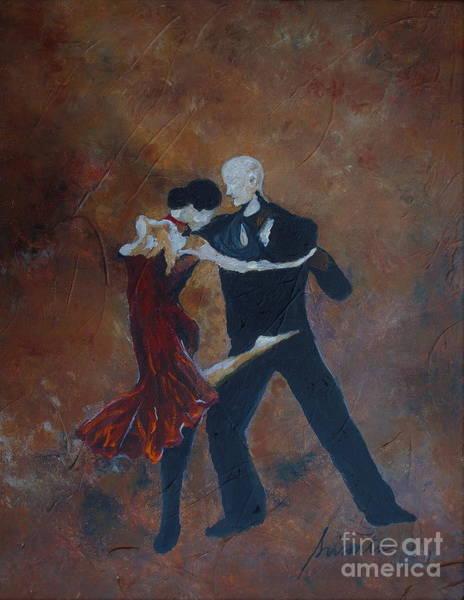 Painting - It Takes Two To Tango by Pristine Cartera Turkus