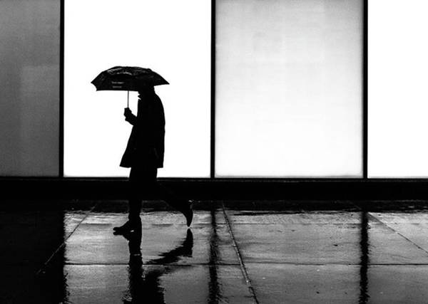 Wall Art - Photograph - It Was A Rainy Day When...... #toronto by Brian Carson