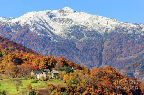Photograph - Italian Alps by Silvia Ganora