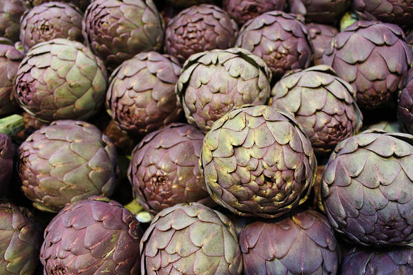 Wall Art - Photograph - Italian Artichokes by Colleen Kammerer