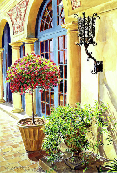 Italian Architecture Painting - Italian Elegance by David Lloyd Glover