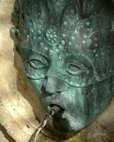 Photograph - Italian Fountain by Frank Mari