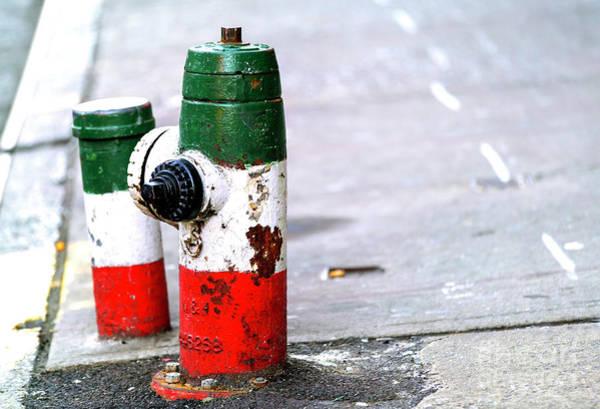 Photograph - Italian Hydrant In New York City by John Rizzuto