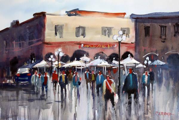 Wall Art - Painting - Italian Marketplace by Ryan Radke