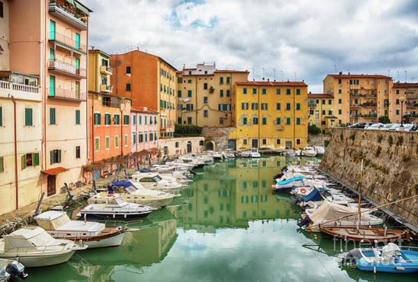 Photograph - Italian Old Town Livorno  by Ariadna De Raadt