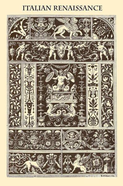 Angle Drawing - Italian Renaissance by Italian School