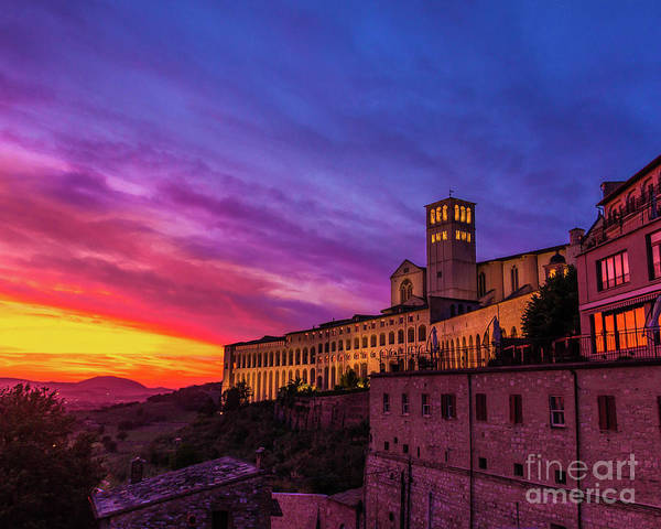Wall Art - Photograph - Italian Sky by Perry Webster