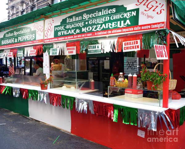 Photograph - Italian Specialties New York City by John Rizzuto