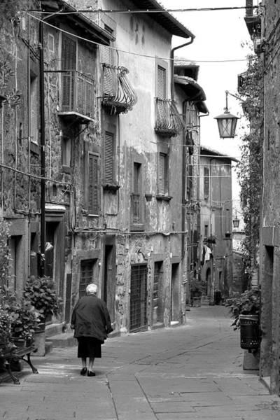 Wall Art - Photograph - Italian Stroll by Valentino Visentini