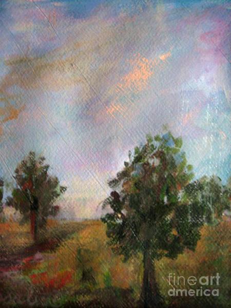 I Dream Painting - Italian Trees by Rosalia  Tignini Verdun