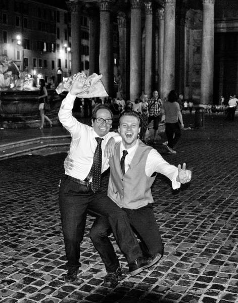 Photograph - Italian Waiters by Coleman Mattingly