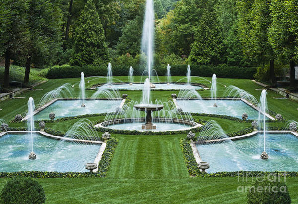 Italian Water Garden Art Print