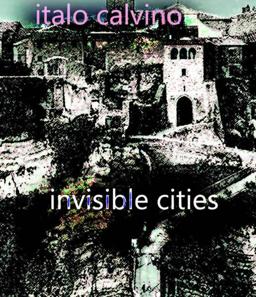 Mixed Media - Italo Calvino Poster  by Paul Sutcliffe