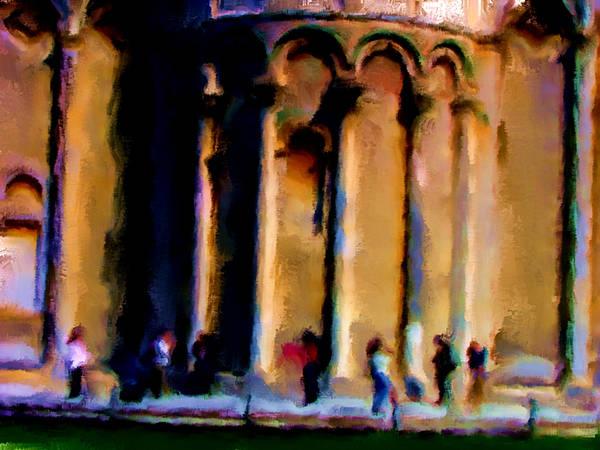 Apostolic Palace Wall Art - Painting - Italy 1a by Brian Reaves