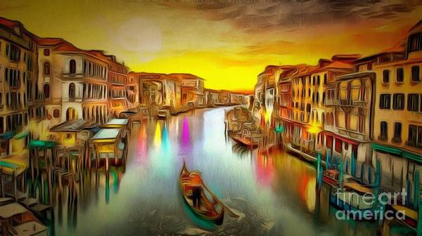 Painting - Italy In Ambiance by Catherine Lott
