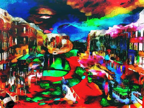 Painting - Italy In The Mix by Catherine Lott