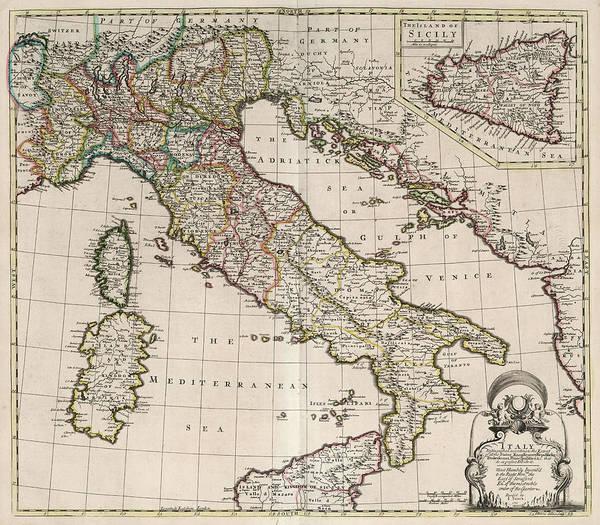 Wall Art - Painting - Italy by John Senex