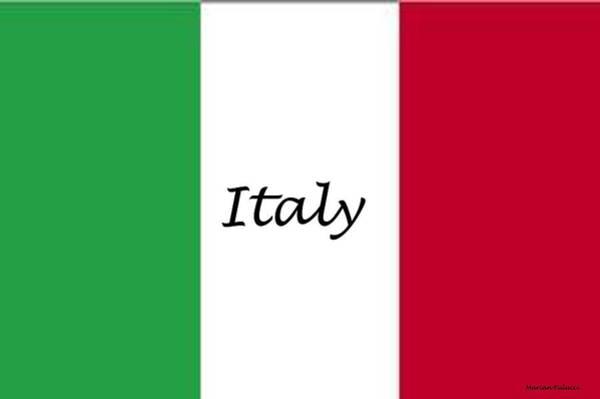 Mixed Media - Italy by Marian Palucci-Lonzetta