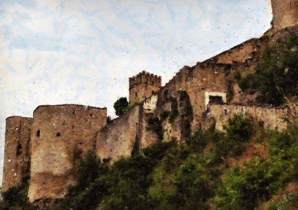 Meadowlands Painting - Italy, Panoramas From Abruzzo - 01  by Andrea Mazzocchetti