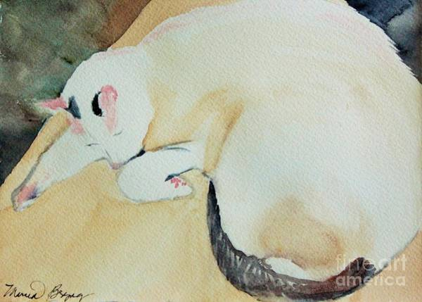 Painting - Itchigo At Rest by Marcia Breznay