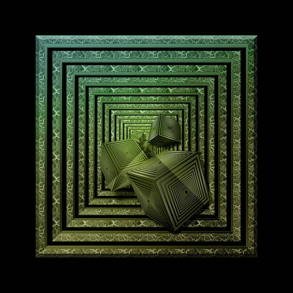 Showpiece Digital Art - It's A Box Thing by Andy Young