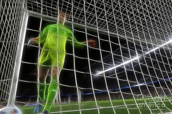 Worldcup Photograph - It's A Goal - Doc Braham - All Rights Reserved by Doc Braham