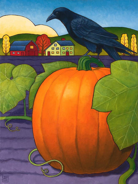Wall Art - Painting - Its A Great Pumpkin by Stacey Neumiller