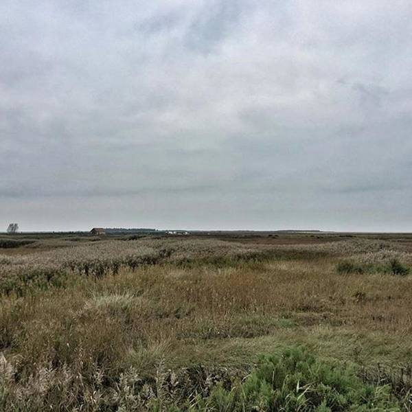 Landscape Photograph - It's A Grey Day In North Norfolk Today by John Edwards