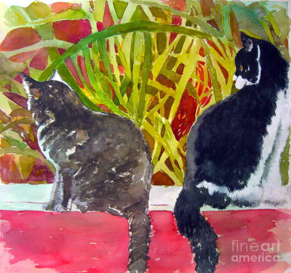 Painting - It's A Jungle Out There by Patsy Walton