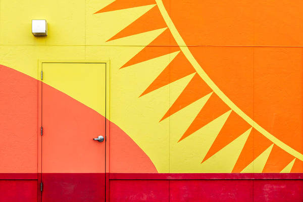 Brighter Side Photograph - It's A Sunshine Door by Todd Klassy