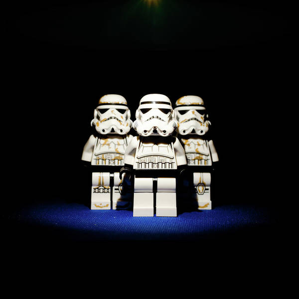Darkside Photograph - Its A Trap by Martin Robertson