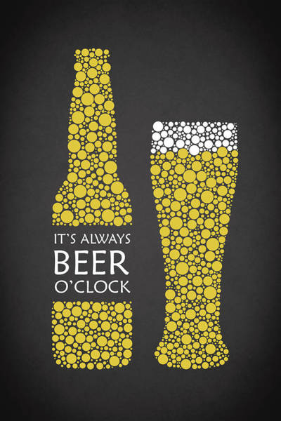 Bitter Photograph - Its Always Beer Oclock by Mark Rogan