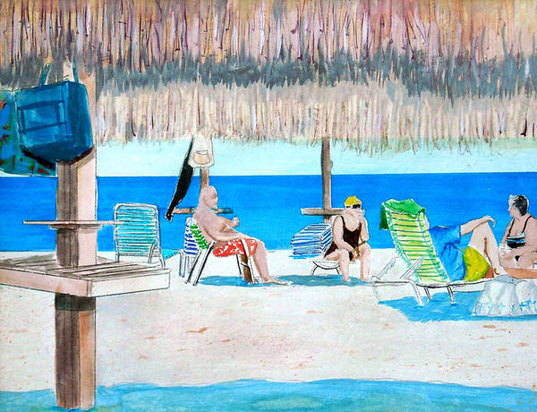 Painting - It's Always Sunny In Aruba by Anthony Ross