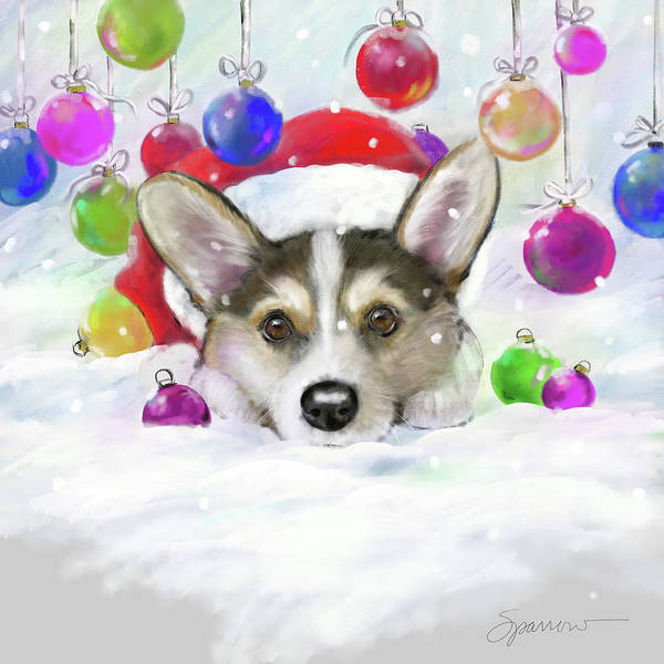 Wall Art - Painting - It's Beginning To Look Alot Like Christmas by Mary Sparrow