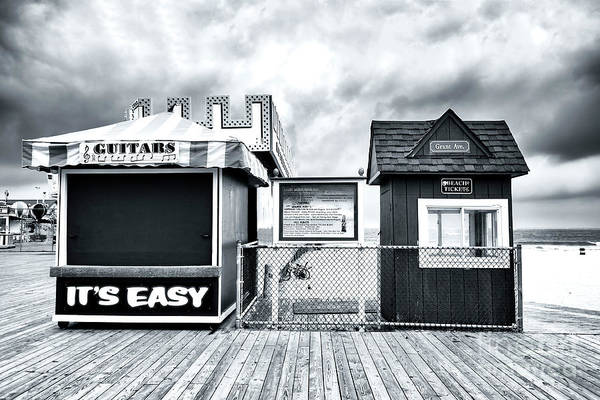 It Professional Photograph - It's Easy On The Seaside Heights Boardwalk by John Rizzuto