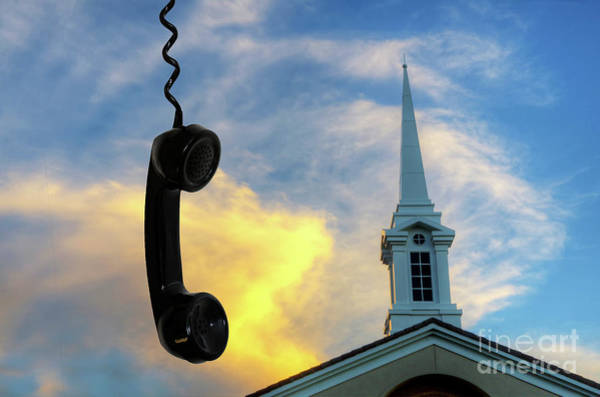 Call Building Photograph - It's For You by Bob Christopher