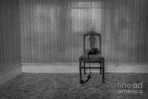 Wall Art - Photograph - Its For You Bw by Michael Ver Sprill