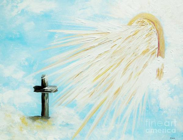 Arisen Painting - It's Impossible To Outgive God by Eloise Schneider Mote