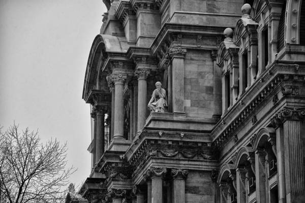 Cityhall Photograph - It's In The Details - Philadelphia City Hall by Bill Cannon
