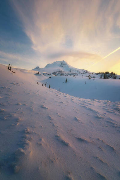 Timberline Photograph - It's Not Spring Yet by Ryan Manuel