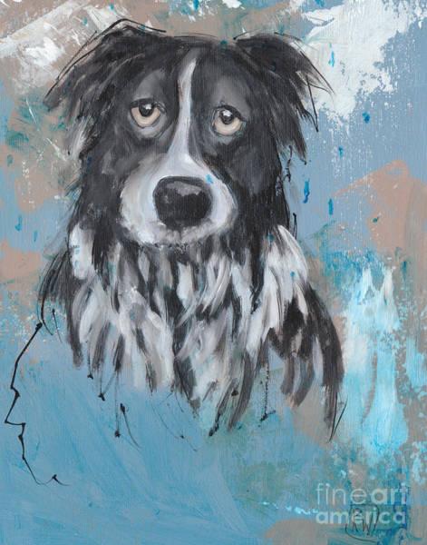 Wall Art - Painting - It's Raining Again by Robin Wiesneth