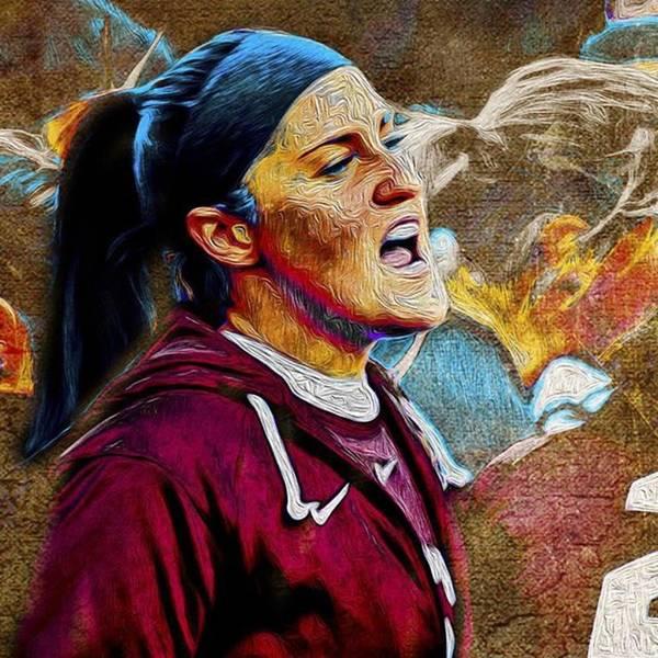 Athletes Wall Art - Photograph - @iupui @iupuiwsoc #iupuimenssoccer by David Haskett II