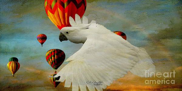 Digital Art - I've Got Wings by Chris Armytage