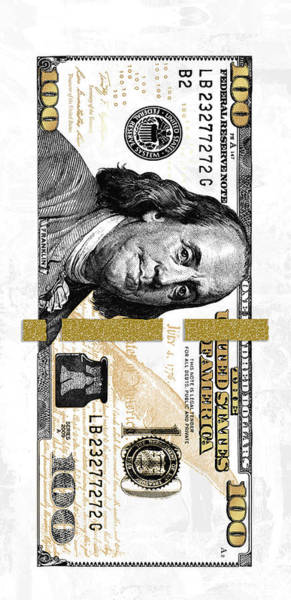Money Digital Art - Ivory Franks by Canvas Cultures