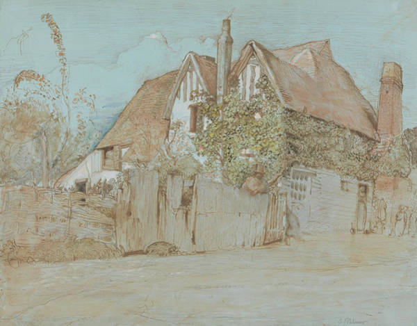 Painting - Ivy Cottage, Shoreham  by Samuel Palmer