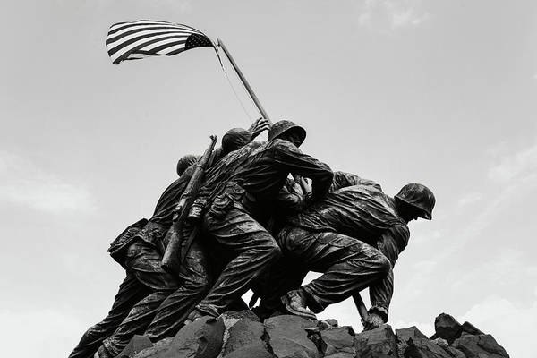 Photograph - Iwo Jima Memorial by Brandon Bourdages