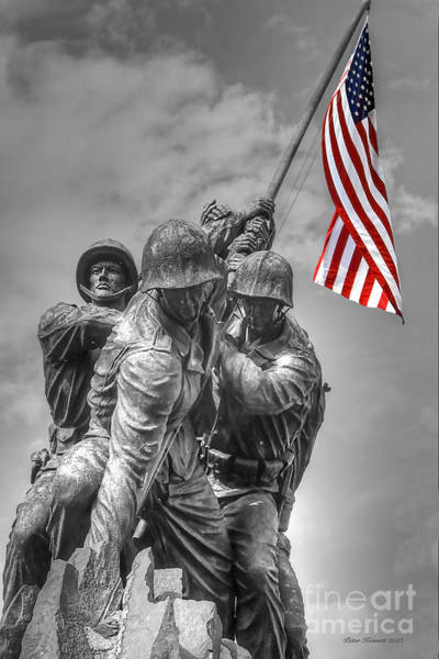 Photograph - Iwo Jima by Peter Kennett